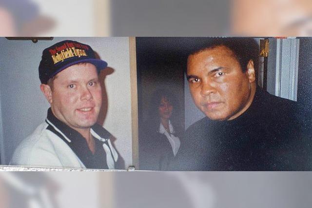 Mike Böttcher traf Muhamad Ali im Hotellift