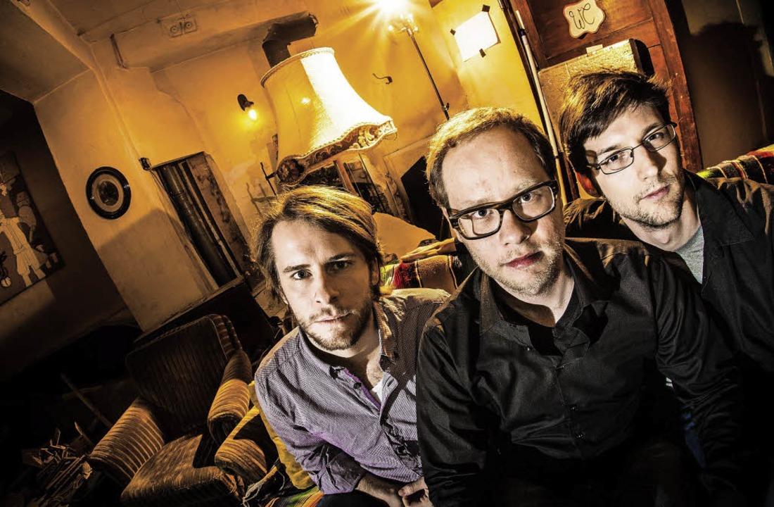 Das Mengamo Trio: Thomas Sauerborn, Sebastian Scobel, Philipp Brämswig  | Foto: Mark-Steffen Göwecke