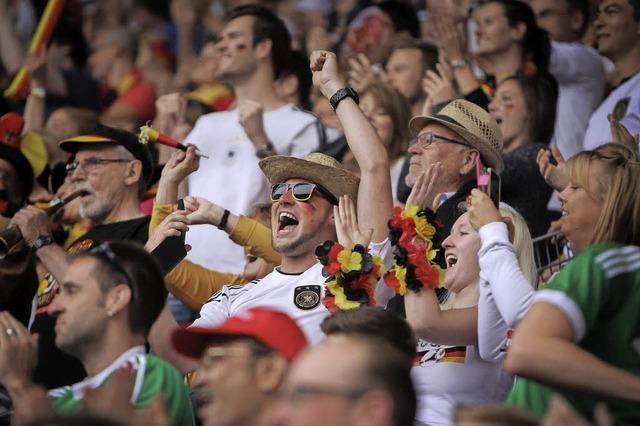Deutschland gegen Polen in Bernau