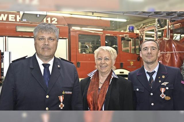 Feuerwehr auch für Brauchtum aktiv