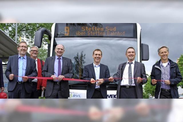 Neue Linien im Süden und Norden der Stadt offiziell eingeweiht
