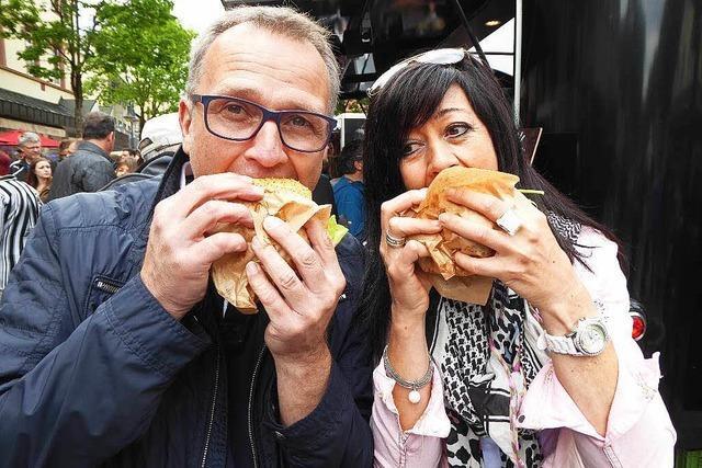 Genussmeile: BZ-Food-Truck-Fest lockt 6000 Besucher