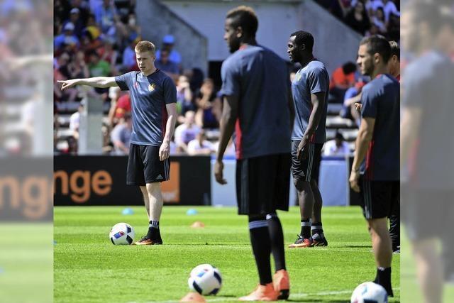 Mitfavorit Belgien muss gegen Italien zum Auftakt liefern