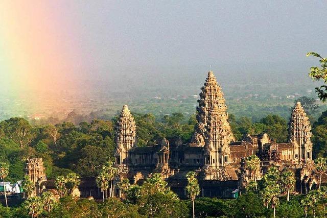 Spektakulärer Fund bei Angkor Wat