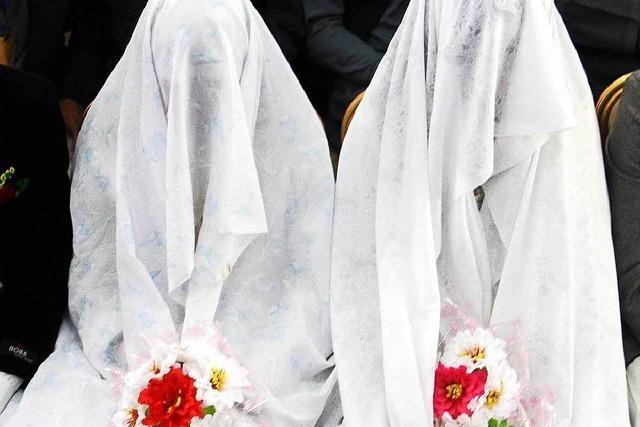 Viele zwangsverheiratete Mädchen unter den Flüchtlingen