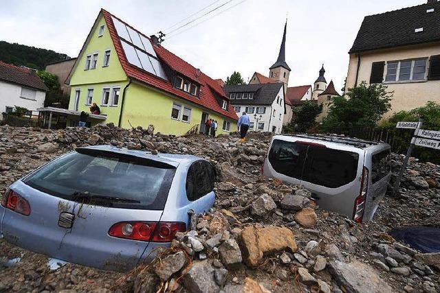 Städte und Dörfer müssen sich Starkregen anpassen