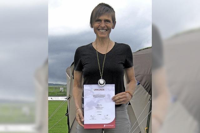Adelheid Wette-Schiestl holt zwei Medaillen