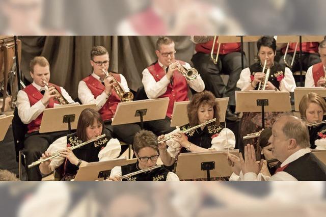 Blaskapellen sorgen für Musik und Unterhaltung in Grafenhausen