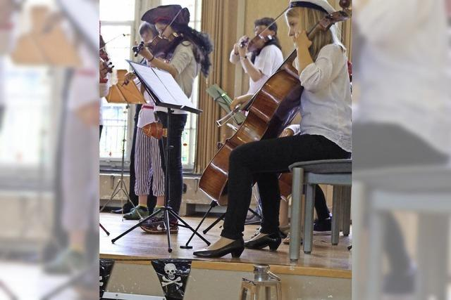 Von der Geige bis zum Kontrabass