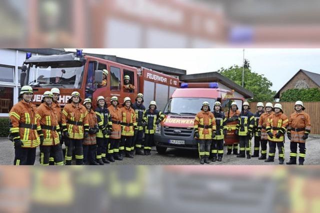 Feuerwehr Sasbach wird 90 Jahre alt