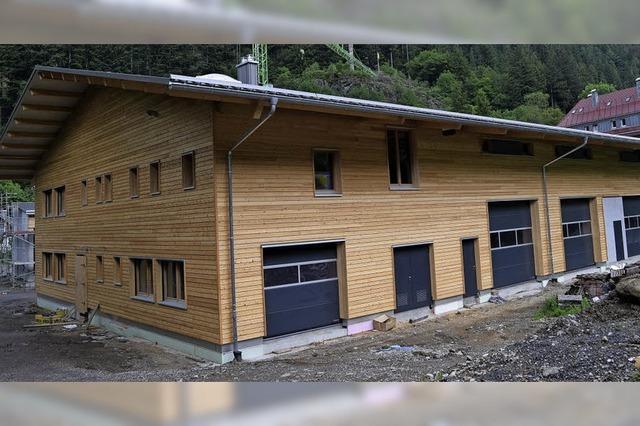 Nachträge für neuen Bauhof