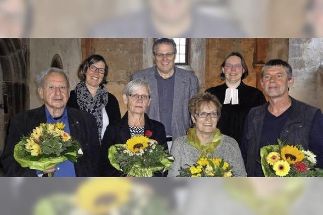 Ein Segen für neue und alte Mitarbeiter der Diakonie im Landkreis
