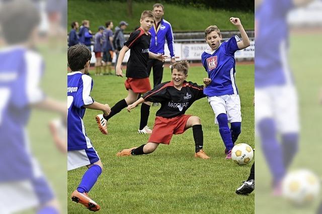 Faire Spiele auf dem Fußballfeld