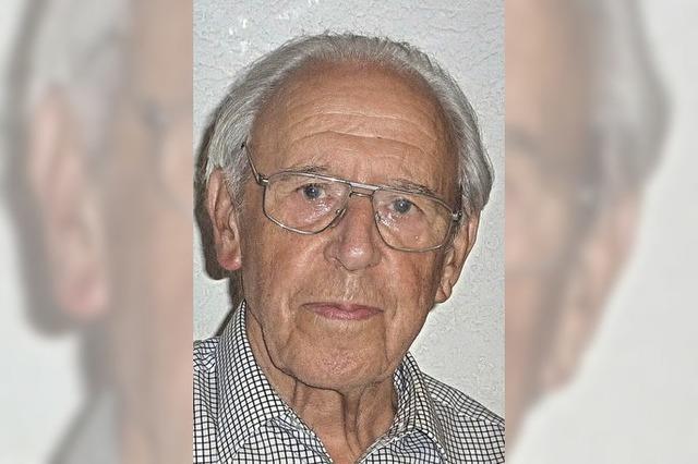Herbert Schmitz wurde 85 Jahre