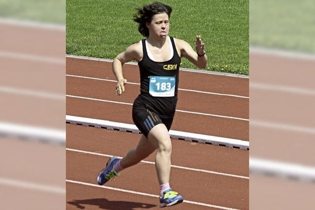 Barbara Böhler gewinnt 400-Meter-Lauf