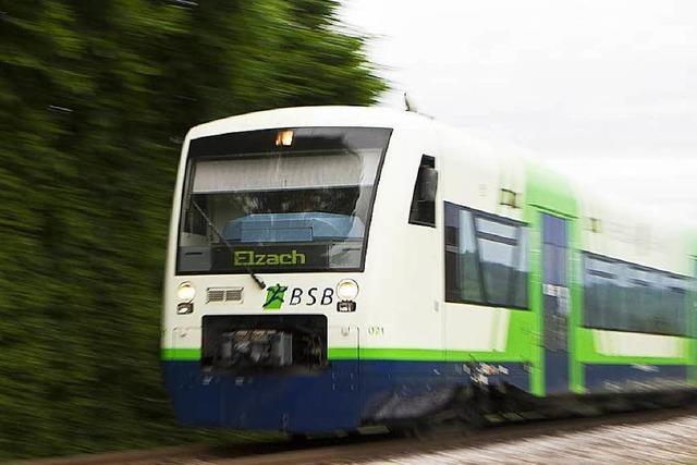 Gleise unterspült: S-Bahn kann nicht ins Elztal fahren
