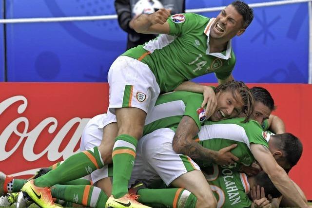 Gute Iren müssen sich gegen Schweden mit Remis zufrieden geben