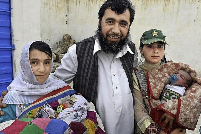 Pakistaner hat 35 Kinder - und möchte mehr als 100 haben