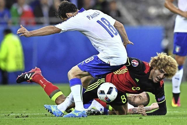 Show der alten Herren: Italien gewinnt gegen Belgien