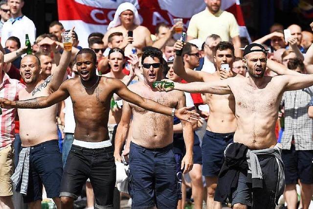 England hat sein Hooligan-Problem nicht im Griff