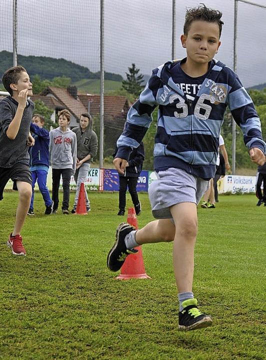 Viel Einsatz zeigten die Schüler der Jengerschule.   | Foto: Ralph Fautz