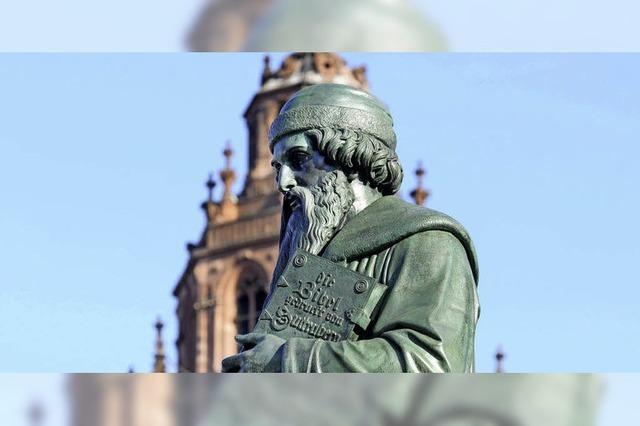Zur Wiege des Buchdrucks in Mainz