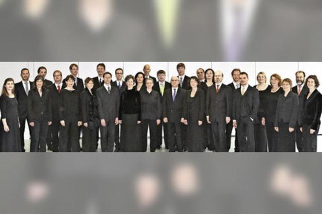 Die cappella vocale würzburg konzertiert in Freiburg und Hinterzarten