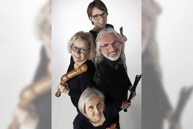 Quartett Metamorphosia gastiert im Haus im Vitibuck in Tiengen