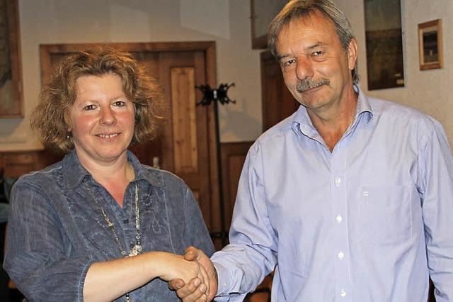 Ulrike Richter ist jetzt neue Gemeinderätin