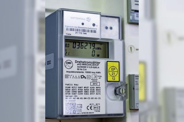 Smarte Stromzähler im Keller