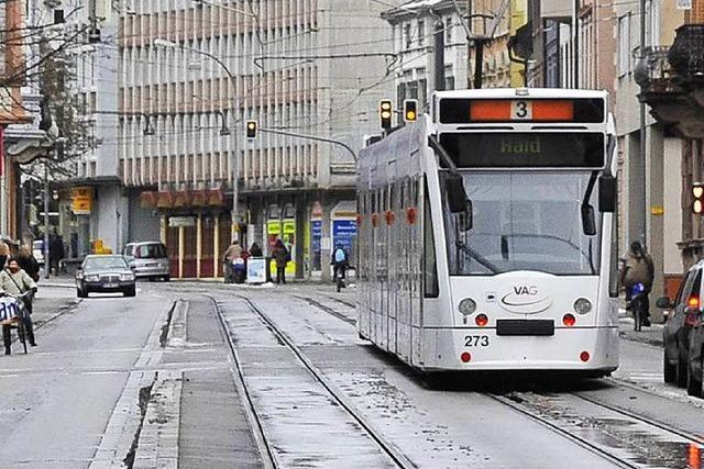 Schaden im Freiburger Tramnetz behoben – Linie 3 und 5 fahren wieder durch