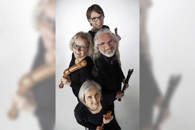 Blockflötenquartett Metamorphosia: Antonio Vivaldi: Die vier Jahreszeiten, arrangiert von Johannes Bornmann, in Tiengen