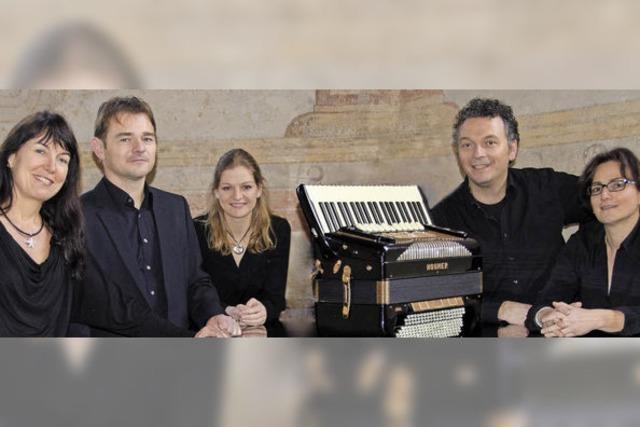 Markgräfler-Akkordeon-Ensemble in Staufen