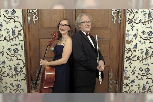 Frank Michael und Stefanie Dauer spielen Bach, Telemann und Beethoven im Depot K.
