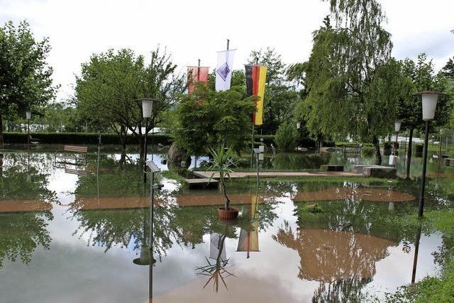 Hochwasser erreicht Kreis