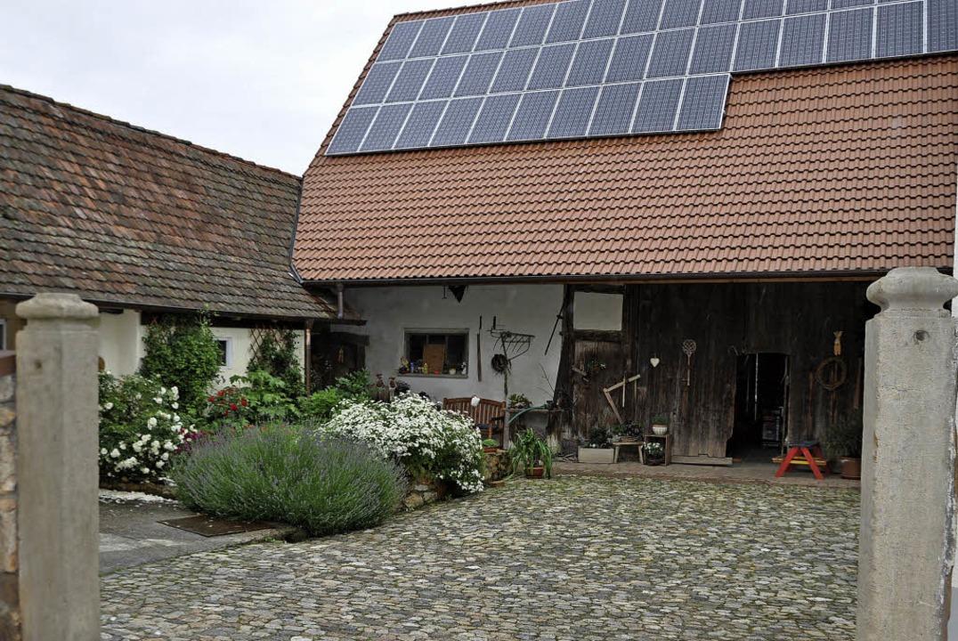 Das Insel-Café auf dem Willi-Hof wird die Besucher begrüßen.  | Foto: Rainer Ruther