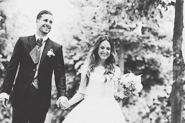 Oliver Baumann heiratet seine langjährige Freundin Charlotte