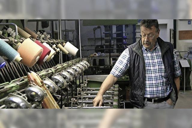Das Textilmuseum sucht Weber