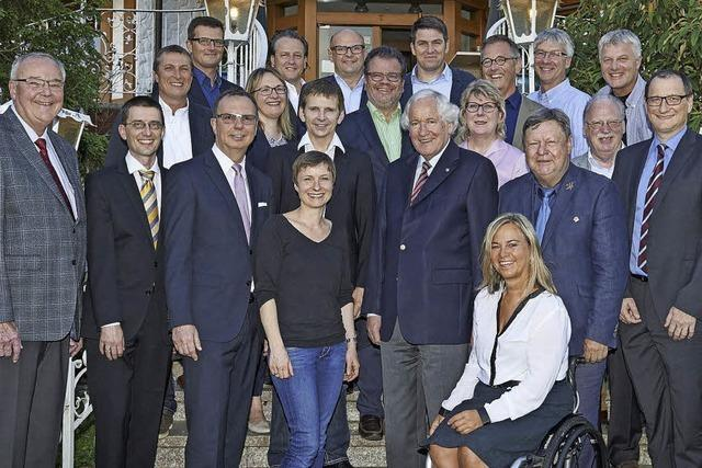Richard Leibinger ist Präsident des neugegründeten Rotary Clubs