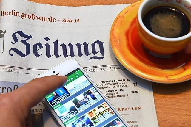 Zeitungen: Die Stärke liegt im Regionalen