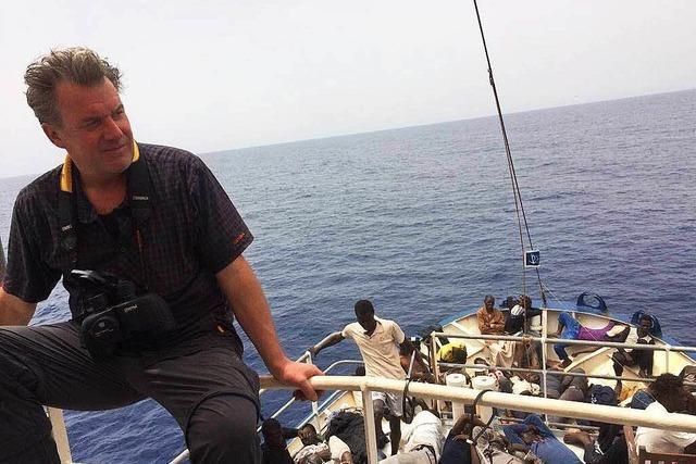 Wie ein Kanderner das Grauen auf dem Mittelmeer erlebt hat