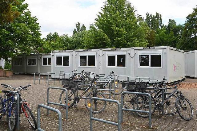 Raumnot an Breisacher Schulen – Unterricht in Containern