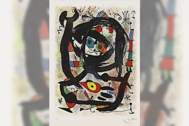 Miró in Riegel
