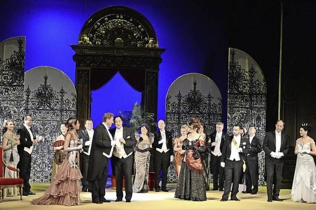 Das Wiener Thalia Theater in einer neuen Inszenierung der Operette von Johann Strauß