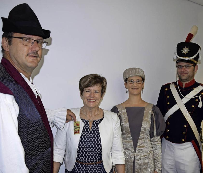 Zum Schwyzertag gibt es wieder ein Fes...d Oliver Gerstner von der Bürgerwehr.   | Foto: Martin