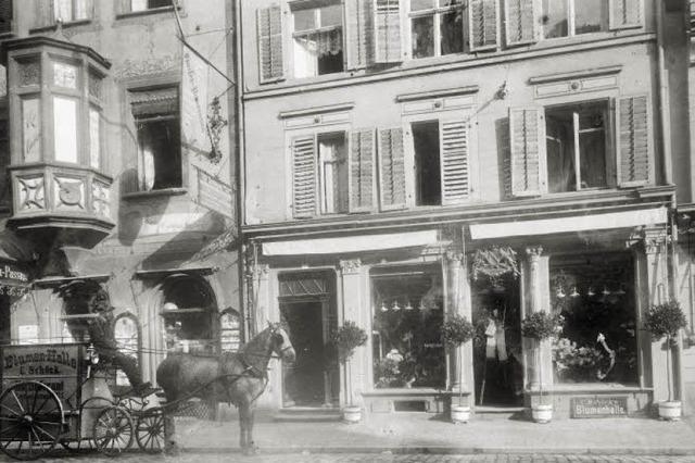 In der Bertoldstraße betrieb Carl Schöck einst ein Blumengeschäft