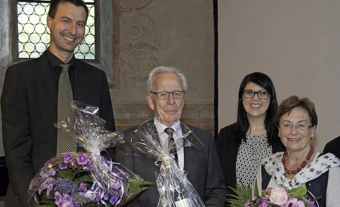 Vorsitzender Holger Karg verabschiedet... für deren Unterstützung (von links).   | Foto: Volker Münch