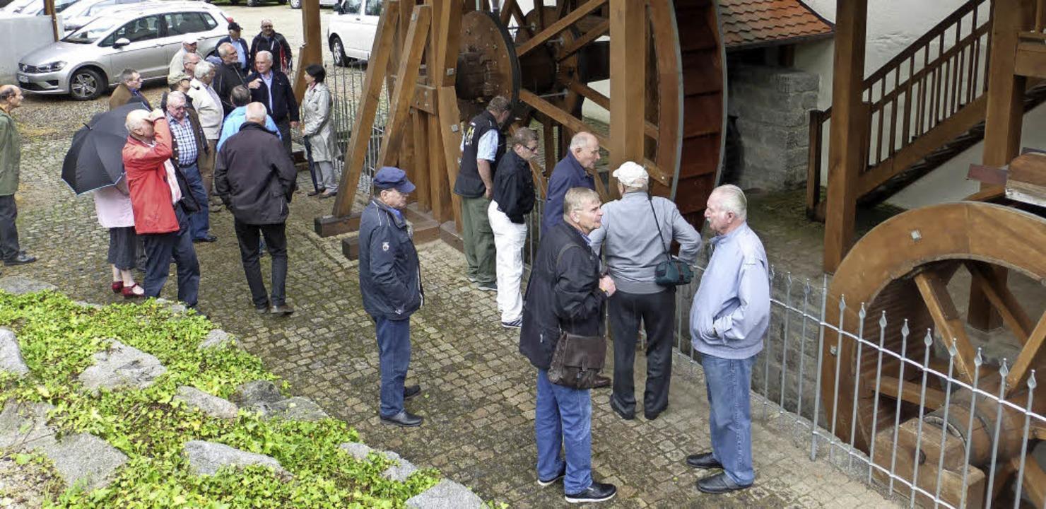 Der Empfang der drei Reservistendelega...in der Frick-Mühle in Müllheim statt.     Foto: Privat