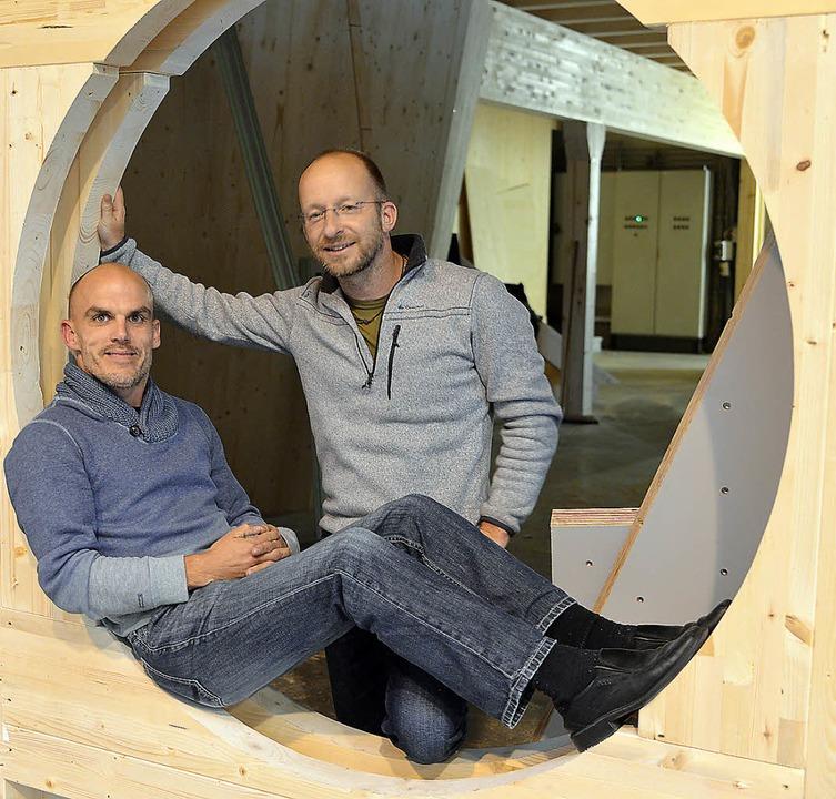 Markus Matt (links) und Arne Sauer     Foto: Martin Eckert