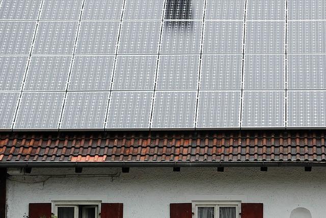 Wie viele Solarzellen dürfen auf Mahlbergs Dächer?